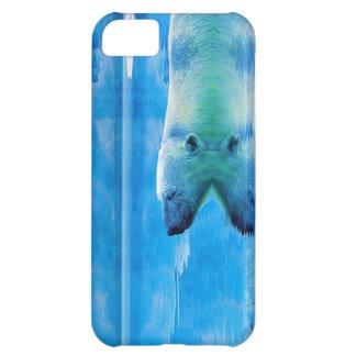 Swimming Polar Bear & Ice iPhone 5 Case