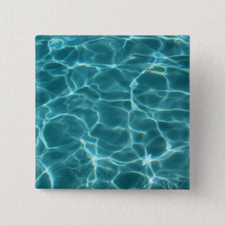 Swimming Pool 15 Cm Square Badge