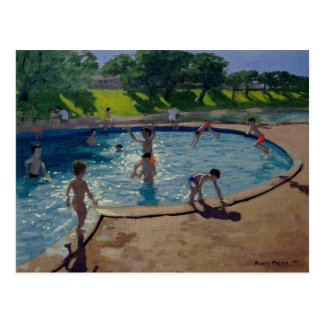 Swimming Pool 1999 Postcard