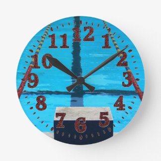 Swimming Pool Clock