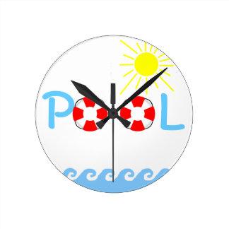 Swimming Pool Clock
