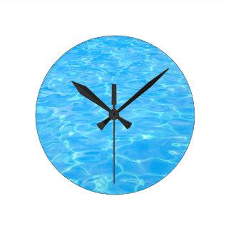 Swimming pool clocks