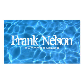 Swimming Pool Profile Card Pack Of Standard Business Cards