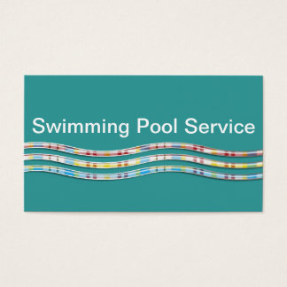 Hot tub office supplies stationery zazzlecouk for Pool company business cards