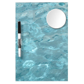 Swimming Pool Summer Abstract Dry Erase Board With Mirror