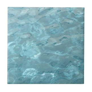 Swimming Pool Summer Abstract Small Square Tile