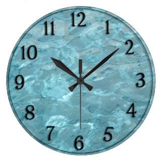 Swimming Pool Water - Summer Fun Abstract Wallclock