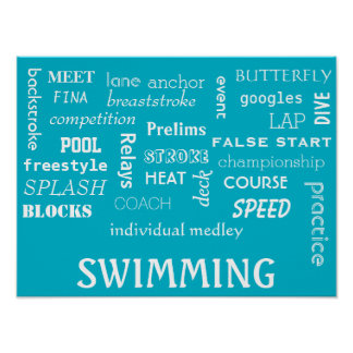 Swimming Poster Motivational!!!