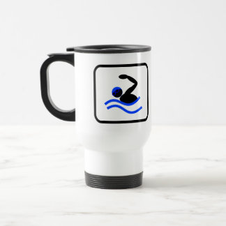 Swimming Pro Stainless Steel Travel Mug