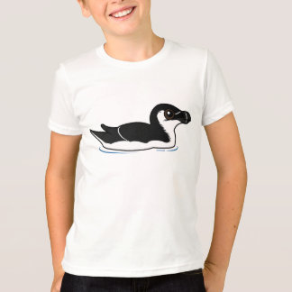Swimming Razorbill, basic T-Shirt