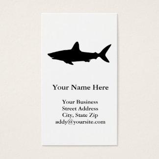 Swimming Shark Business Card