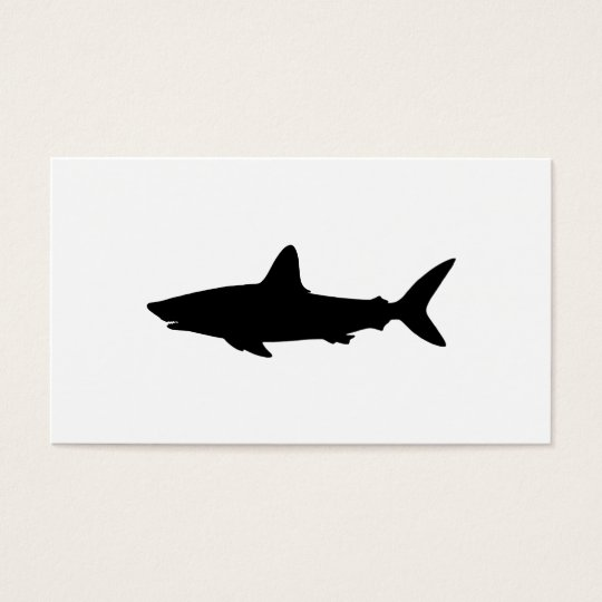 Swimming Shark Business Card
