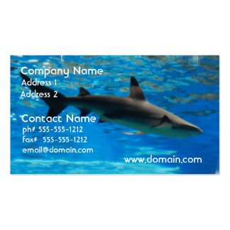 Swimming Shark Business Cards