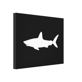 Swimming Shark Canvas Print