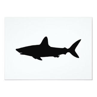 Swimming Shark Card