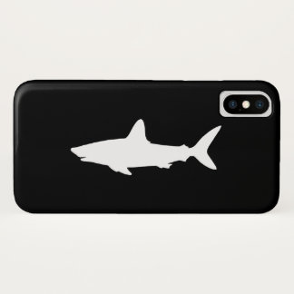 Swimming Shark iPhone X Case