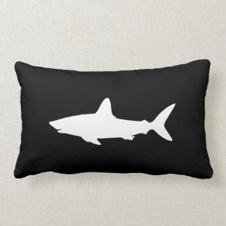 Swimming Shark Lumbar Cushion