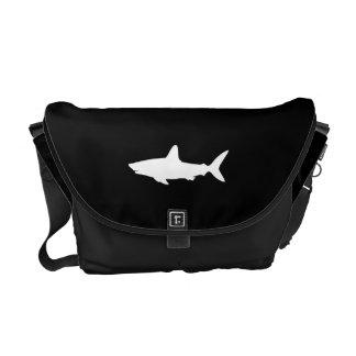 Swimming Shark Messenger Bag