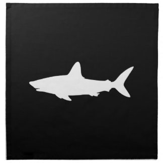 Swimming Shark Napkin
