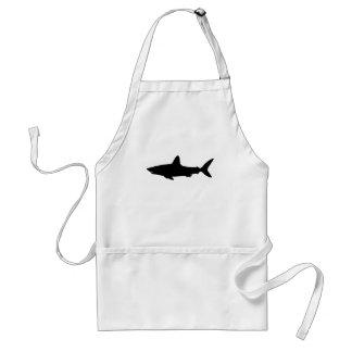 Swimming Shark Standard Apron