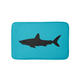 Swimming Shark Bath Mats