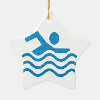 Swimming Success Swim Swimmer 101 Christmas Ornament