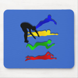 Swimming Swimmers Water Sports Swim Mouse Pad
