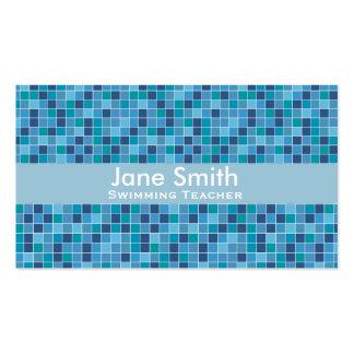 Swimming Teacher, Swim Coach, Swim Instructor Pack Of Standard Business Cards