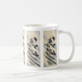 Swimming Turtles, Hokusai, 1832 Mugs and Steins