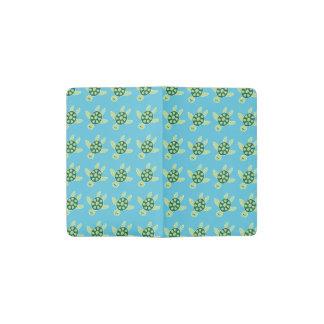 Swimming Turtles Pocket Moleskine Notebook