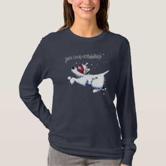 Swimming Westie Terrier T-Shirt