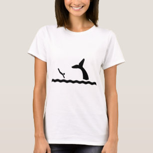Swimming with the Whales T-Shirt
