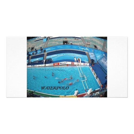 SWIMMING WORLD CHAMPIONSHIP ROME 2009 PHOTO CARD TEMPLATE