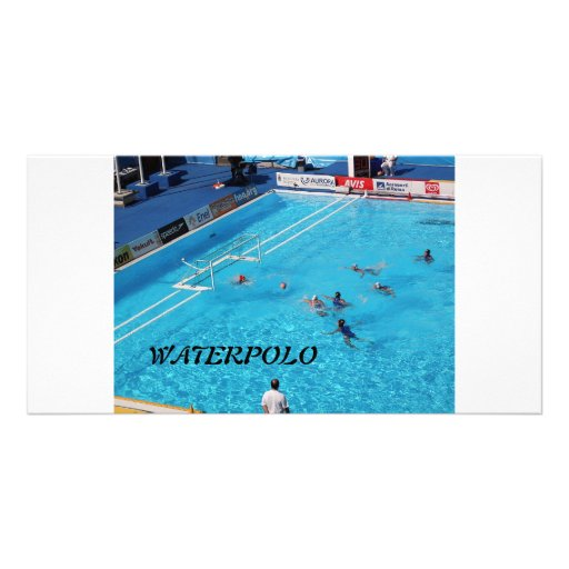 SWIMMING WORLD CHAMPIONSHIP ROME 2009 PERSONALIZED PHOTO CARD