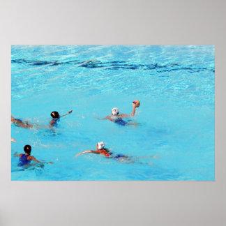 SWIMMING WORLD CHAMPIONSHIP ROME 2009, WOMEN WATER POSTER