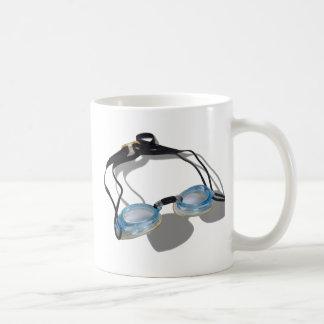 SwimmingGoggles091210 Basic White Mug