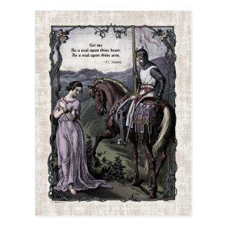"Swinburne ""An Old Saying"" Victorian Postcard"