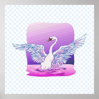 Swindie Swan Poster