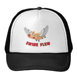 Swine Flew! Mesh Hats