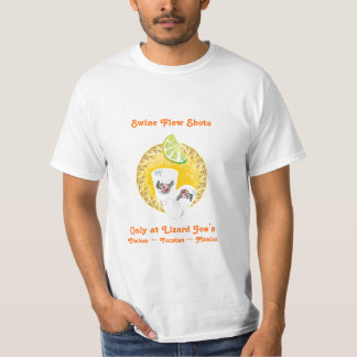 Swine Flew Shots T-Shirt