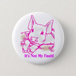 Swine Flu 6 Cm Round Badge