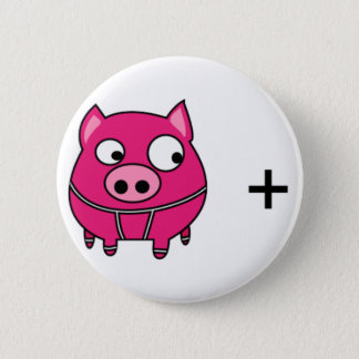 SWINE flu 6 Cm Round Badge