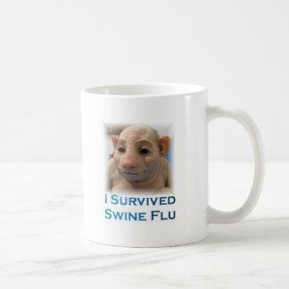 Swine Flu Basic White Mug