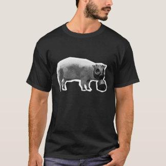 Swine Flu Black T-Shirt