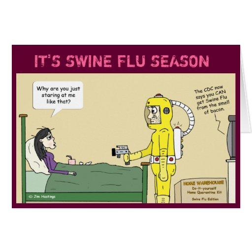 Swine Flu Card