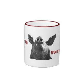 Swine flu free mug
