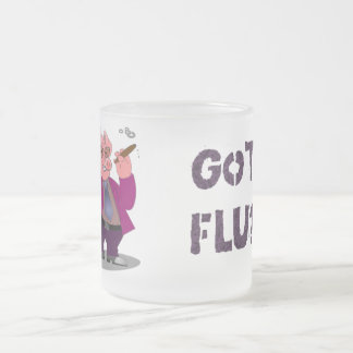 Swine Flu Frost Mug