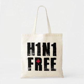 Swine Flu & H1N1 stuff Tote Bags