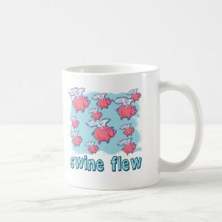 Swine Flu Humor Products Basic White Mug