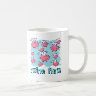 Swine Flu Humor Products Coffee Mug